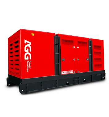 Дизельная электростанция P1650D5 в кожухе