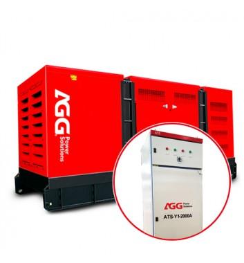 Дизельная электростанция P880D5 в кожухе c АВР